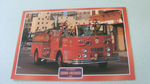 Crown Firecoach 1952 fire Truck framed picture (7)